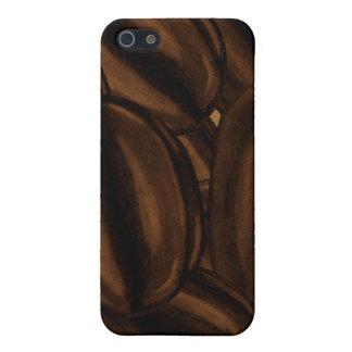 Granos de café gigantes iPhone4case iPhone 5 Fundas