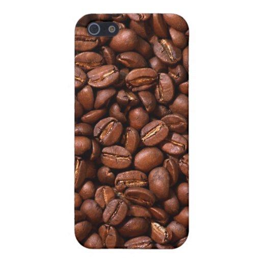 Granos de café iPhone 5 carcasa