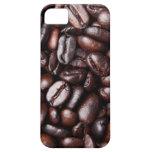 Granos de café - luz entera y oscuridad asadas iPhone 5 funda