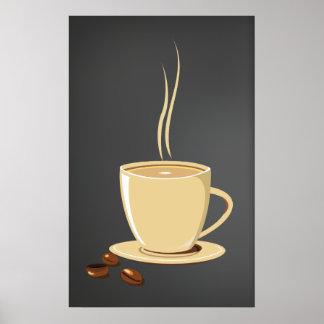 Granos de café posters