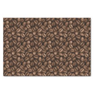 Granos de café papel de seda pequeño