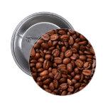 Granos de café pins