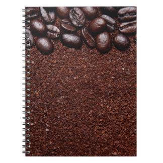 Granos de café - plantillas modificadas para requi libretas espirales