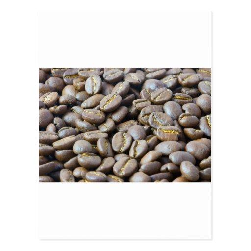 granos de café postales