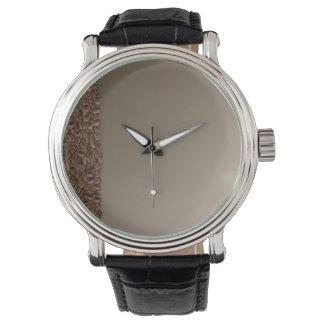 Granos de café relojes de pulsera