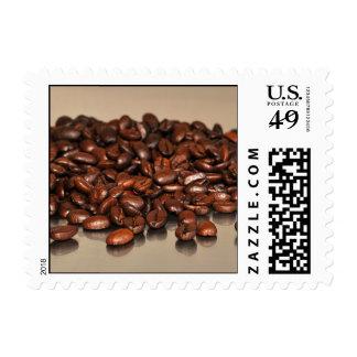 Granos de café sellos