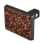 Granos de café tapas de remolque