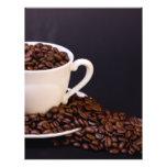 Granos de café tarjetones