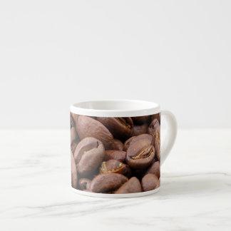 Granos de café taza espresso