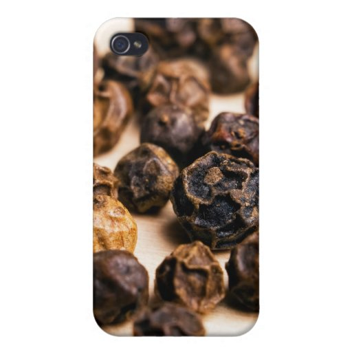 Granos de pimienta iPhone 4 coberturas