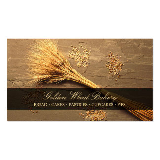 Granos del trigo - tarjeta de visita del Patisseri