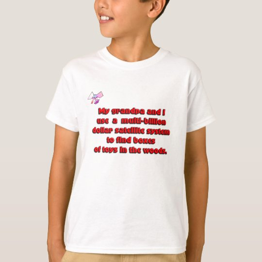 Granpa and I cache T-Shirt