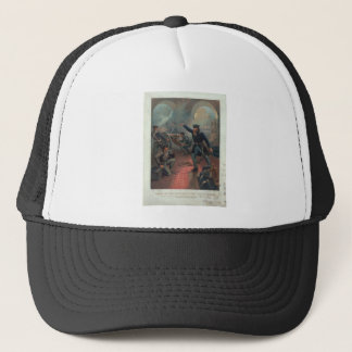 Grant at the Capture of the City of Mexico Leutze Trucker Hat