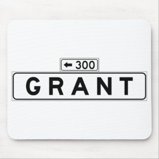 Grant Ave., San Francisco Street Sign Mouse Pad