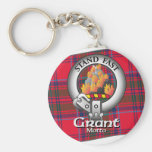 Grant Clan Key Chain