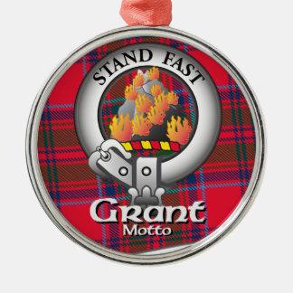 Grant Clan Metal Ornament