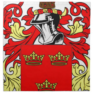 Grant Coat of Arms Napkin