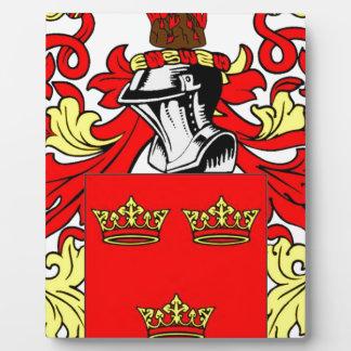 Grant Coat of Arms Plaque