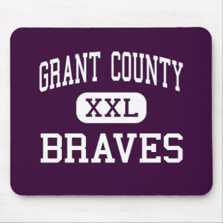 Grant County - Braves - High - Dry Ridge Kentucky Mouse Pad