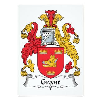 Grant Family Crest Card