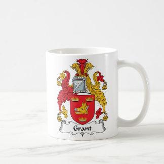 Grant Family Crest Coffee Mug