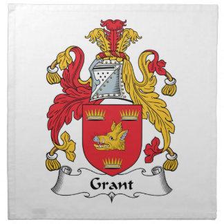 Grant Family Crest Napkin