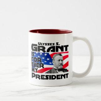 Grant Forever Two-Tone Coffee Mug