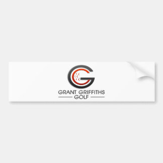 Grant Griffiths Golf Car Bumper Sticker