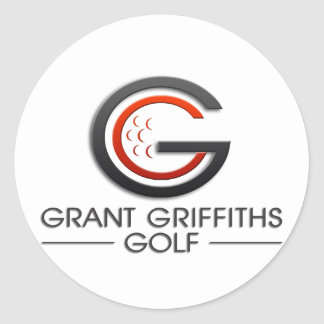 Grant Griffiths Golf Classic Round Sticker