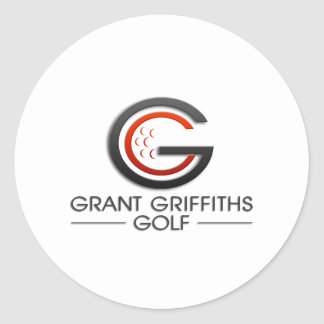 Grant Griffiths Golf Round Stickers