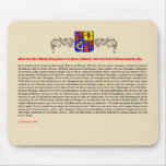 Grant of Title from King James I - Mouse Mat / Pad