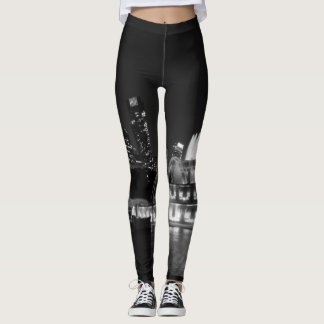 Grant Park Chicago Grayscale Leggings