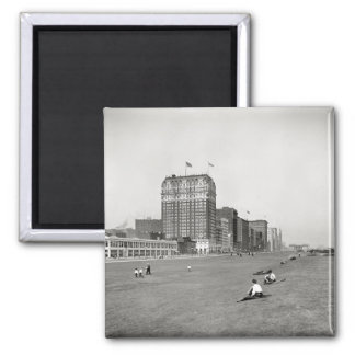 Grant Park Chicago Illinois in 1910 Refrigerator Magnets