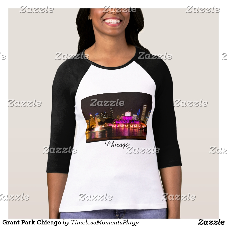 Grant Park Chicago T-Shirt - Best Selling Long-Sleeve Street Fashion Shirt Designs