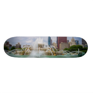 Grant Park City View Skateboard Deck