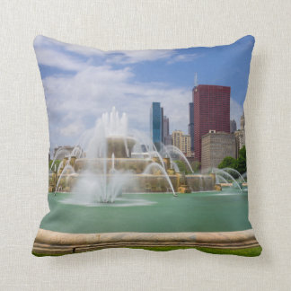 Grant Park City View Throw Pillow