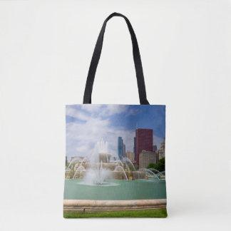 Grant Park City View Tote Bag