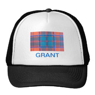 GRANT SCOTTISH FAMILY TARTAN TRUCKER HAT