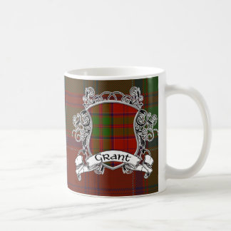 Grant Tartan Shield Coffee Mug