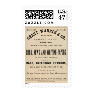 Grant, Warren and Company Postage
