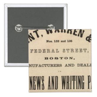 Grant Warren y Company Pin