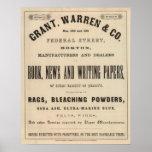 Grant, Warren y Company Póster