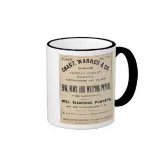 Grant Warren y Company Tazas De Café