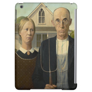 GRANT WOOD - American gothic 1930 Case For iPad Air