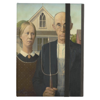 GRANT WOOD - American gothic 1930 iPad Air Case