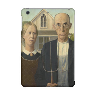 GRANT WOOD - American gothic 1930 iPad Mini Covers