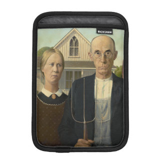GRANT WOOD - American gothic 1930 iPad Mini Sleeve