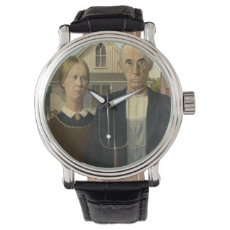 GRANT WOOD - American gothic 1930 Watch