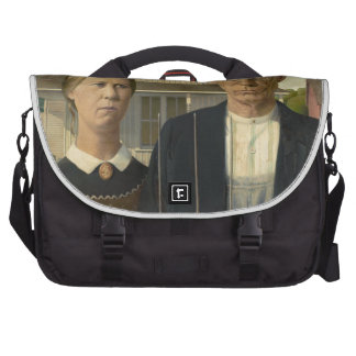 Grant Wood American Gothic Commuter Bag