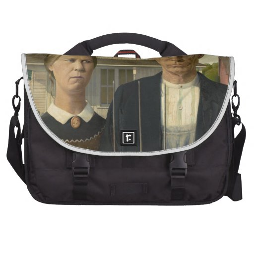 Grant Wood American Gothic Commuter Bag